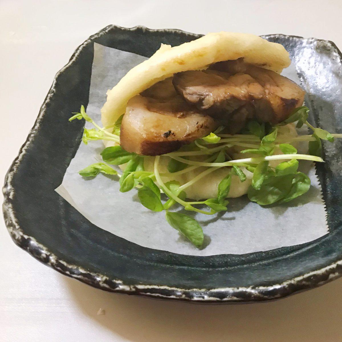 焼豚バーガー