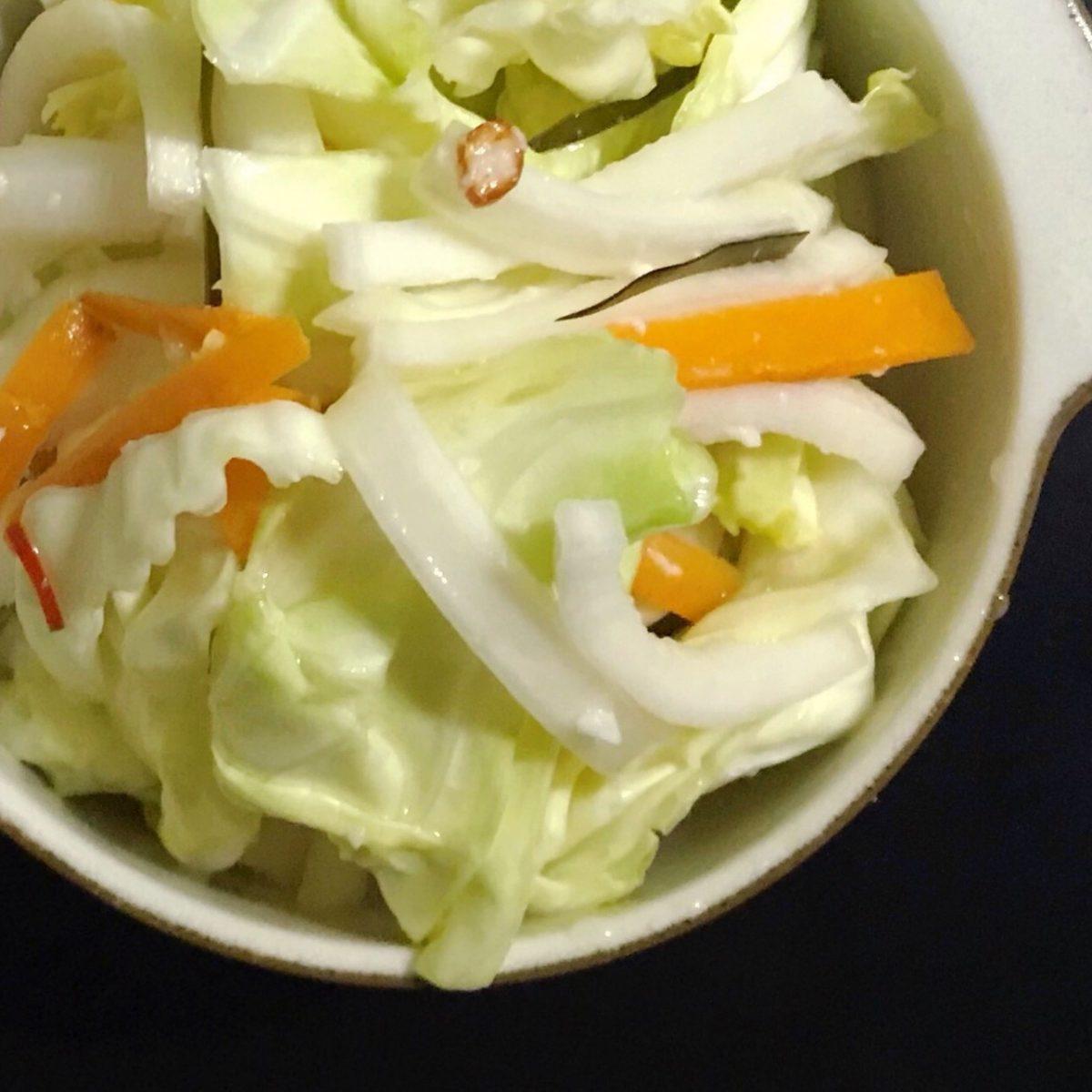 くず野菜の糀漬け
