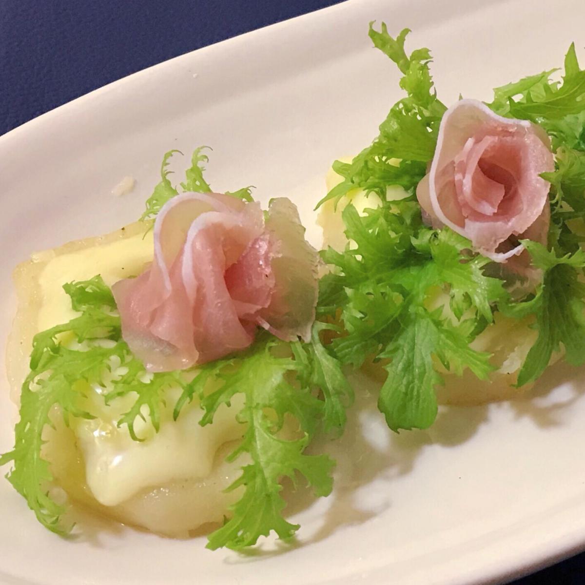 ポテトチーズ〜柚子胡椒味と肉みそ味〜